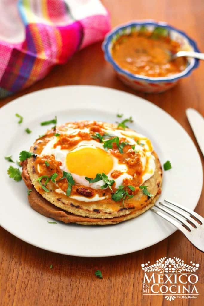 Empalmes receta de Nuevo León | recetas mexicanas | México en mi cocina