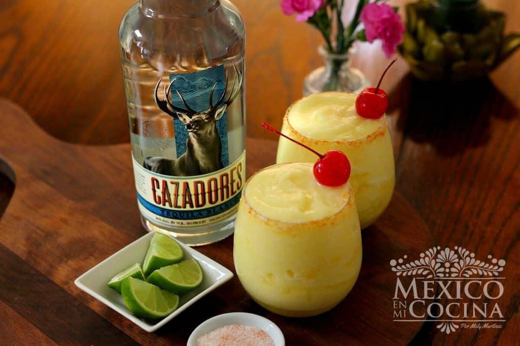 Margarita de piña congelada | Mexico en mi Cocina