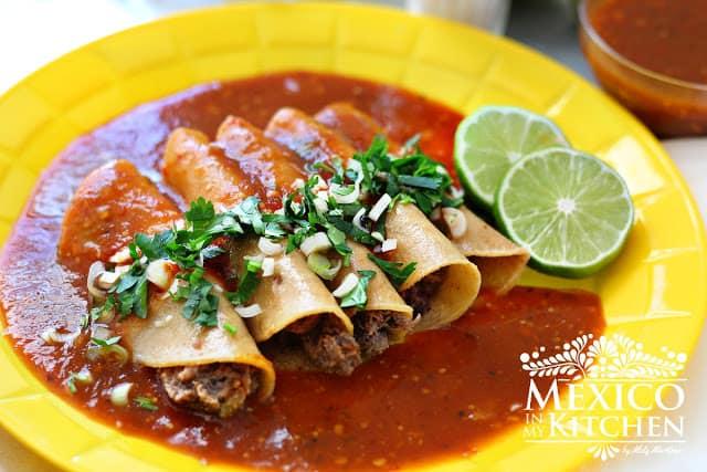 Disfruta de esta deliciosa receta de Tacos Tlaquepaque
