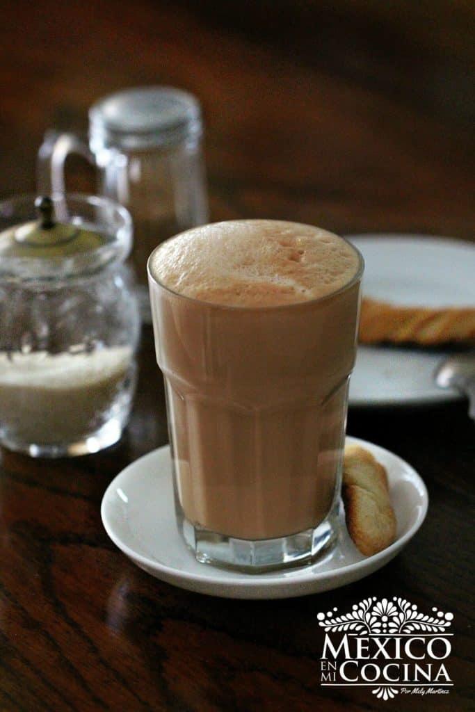 cafe lechero Veracruz receta - La Parroquia - Receta mexicana