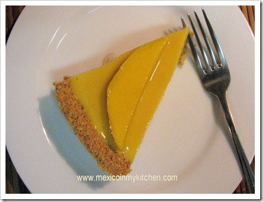 pay de mango receta fácil