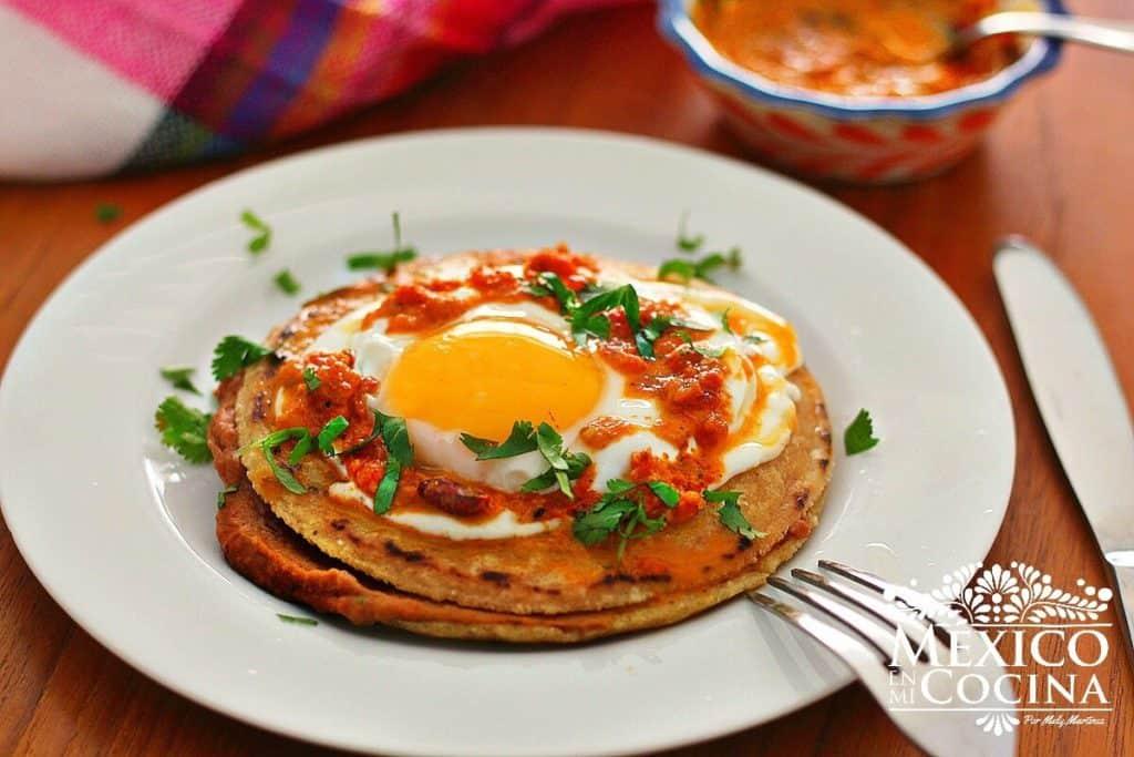 empalmes receta | Recetas de comida Mexicana