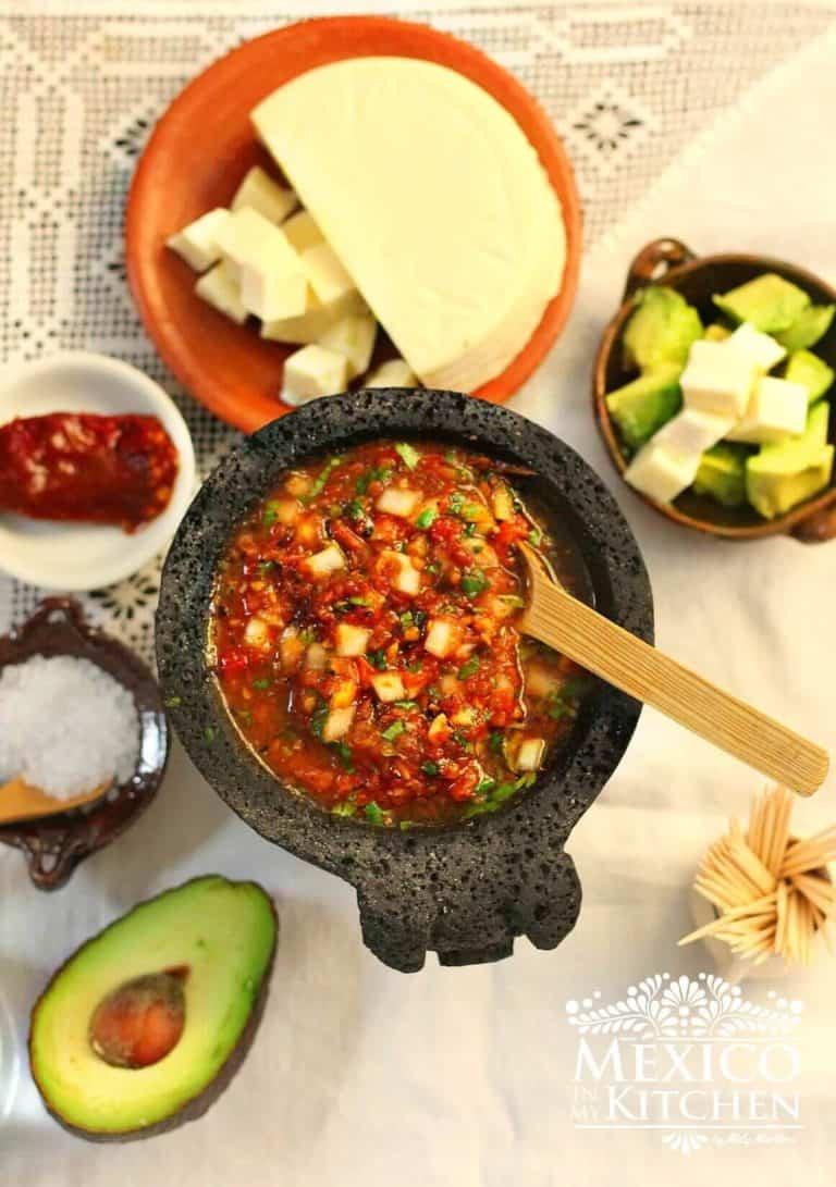 receta salsa de chipotle, comida mexicana