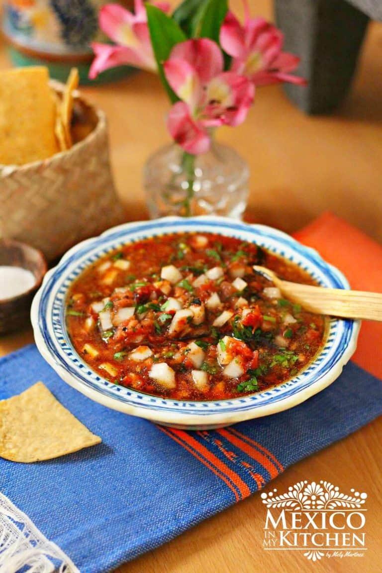 Receta salsa chipotle