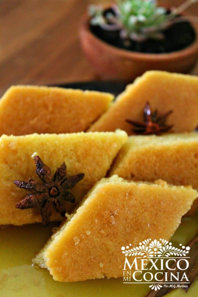 Pan dulce en forma de rombo Chiapas receta