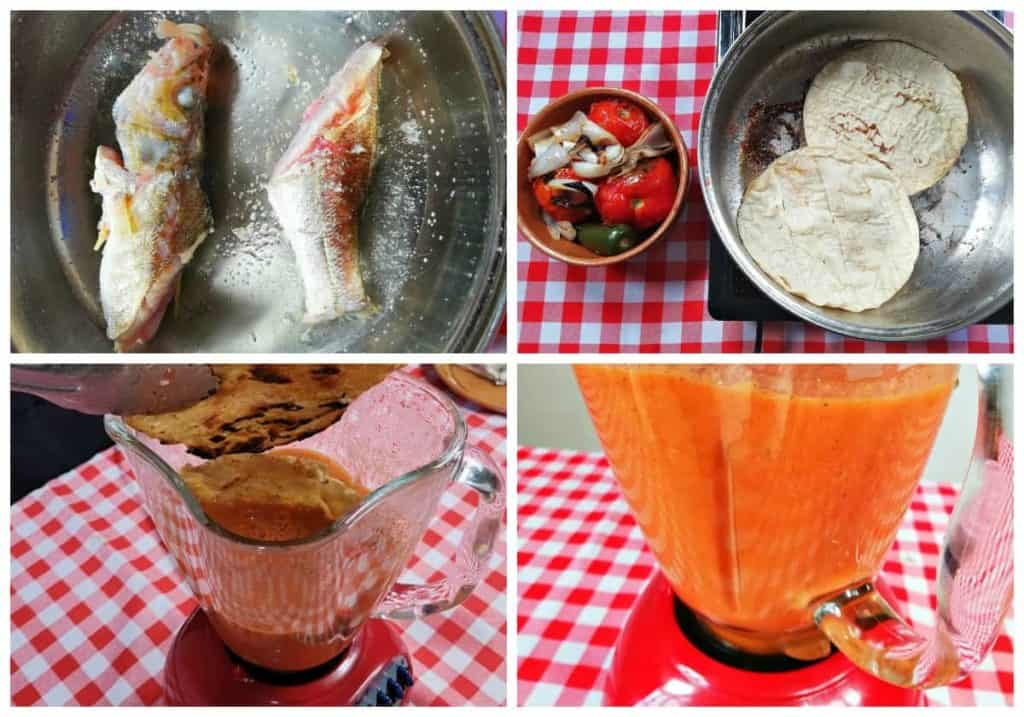 Caldo de mariscos receta
