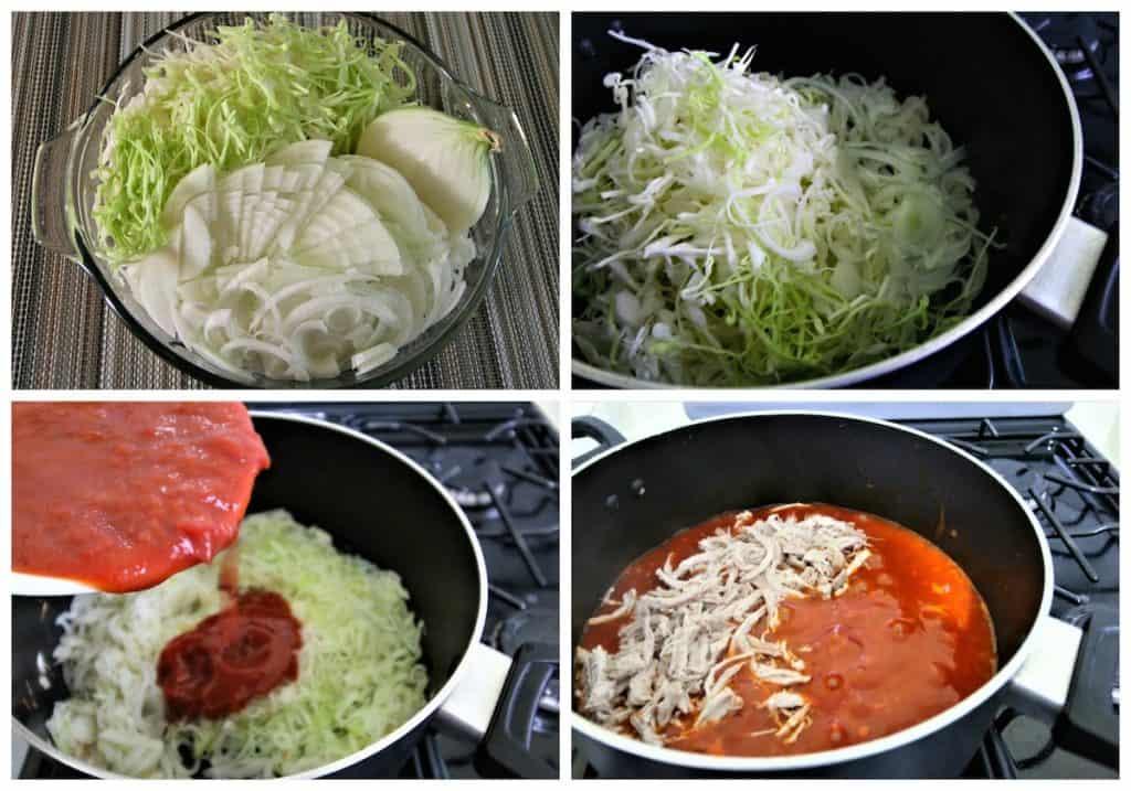 Como se hace la carne con salsa de tomate y chile chipotle dulce.