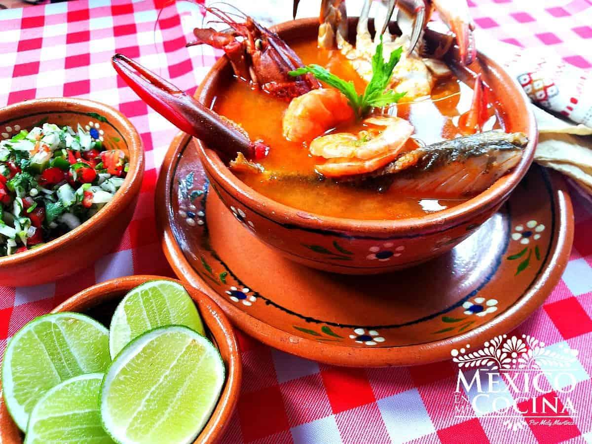 Caldo De Mariscos Recetas De Comida Mexicana México En Mi Cocina