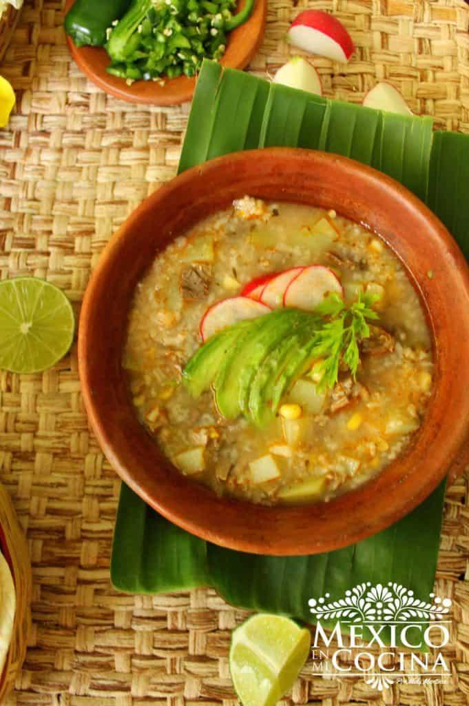 Carne picada con arroz receta