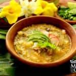 sopa tabasqueña con arroz
