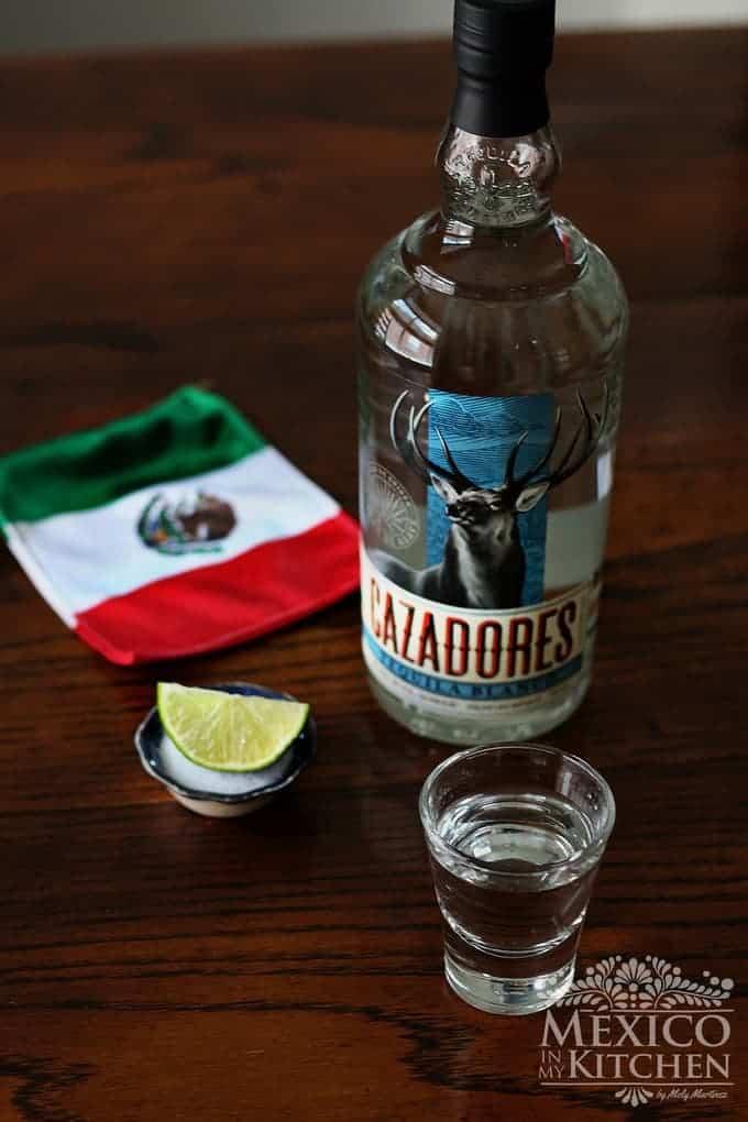 Tequila blanco cazadores