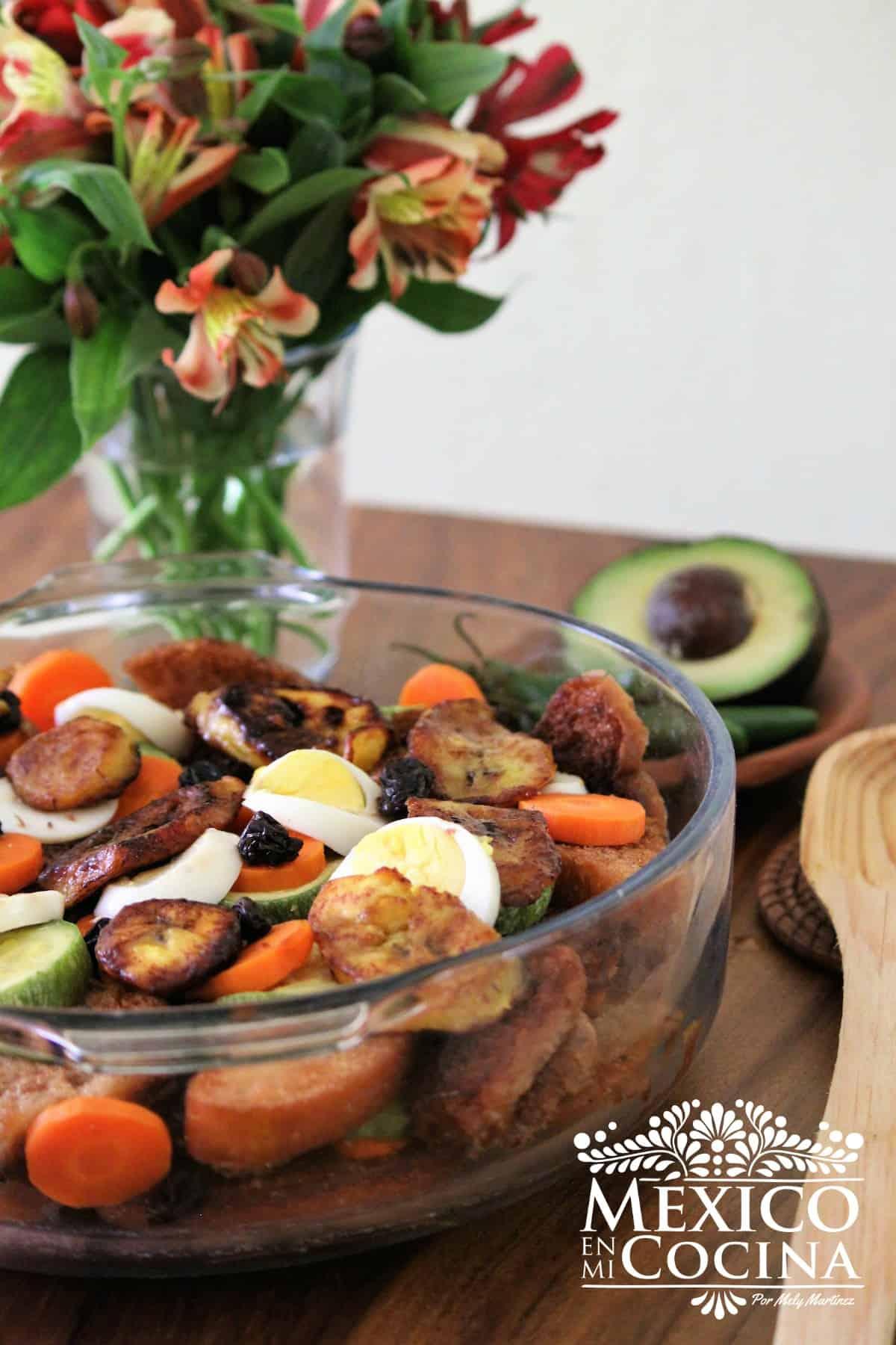 receta de sopa de pan de Chiapas
