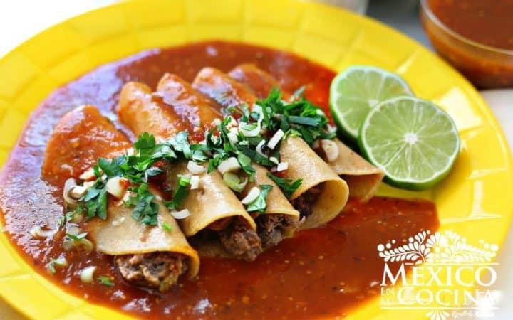 Receta tacos tlaquepaque