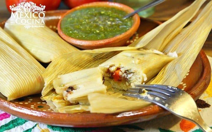 Tamales sin manteca