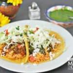 Tacos de Sobras receta