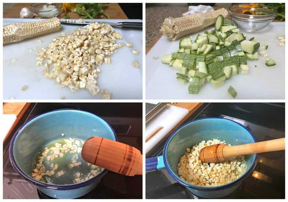 Instrucciones paso a paso para preparar sopa de guías